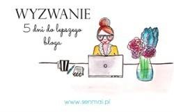 WYZWANIE BLOGOWE senmai.pl