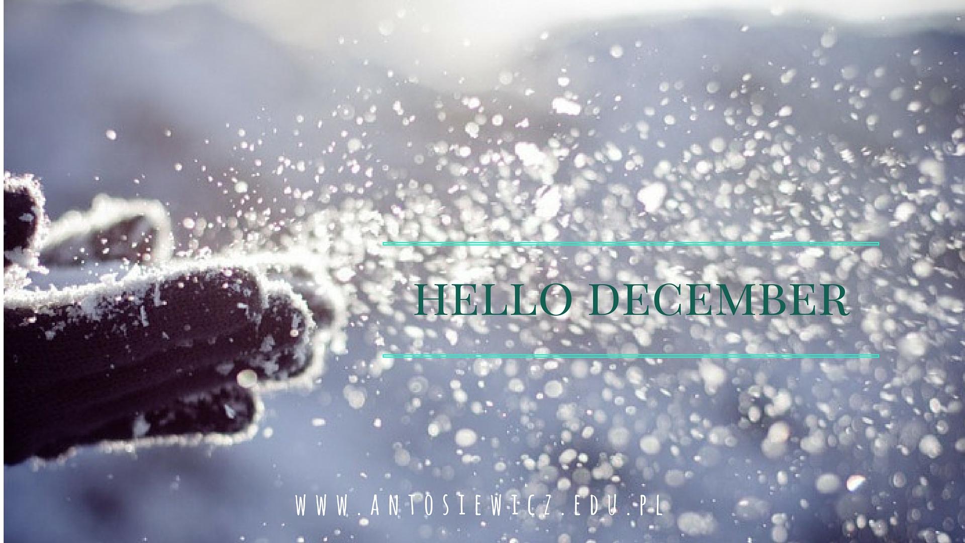 święta hello december