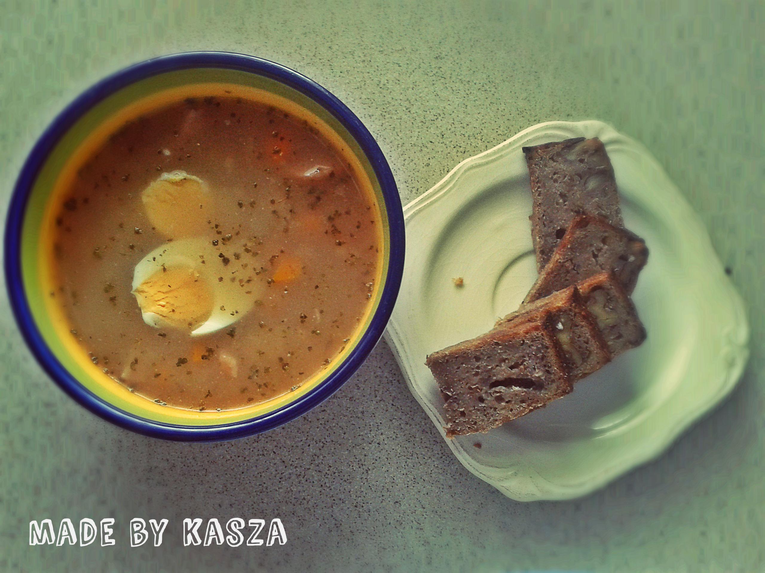 rozgrzewajace zupy żur na zakwasie